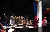 With George Gee's Big Band