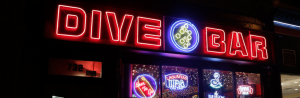 Dive Bar Neon Sign