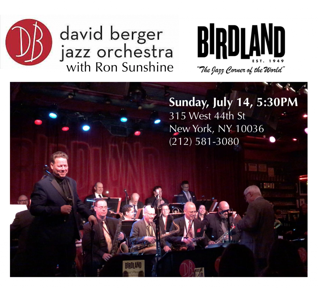 Sunshine Berger Birdland Card July 14 2019