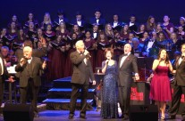 Sunshine, Piscopo, Deana Martin wish Frank Sinatra a Happy 100th.